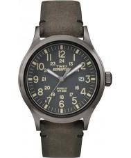 Timex TW4B01700 Pánská expedice analog zvýšené hnědé hodinky