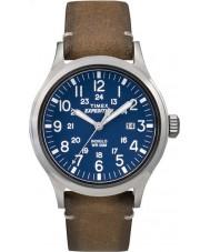Timex TW4B01800 Pánská expedice analog zvýšenou opálení kožený řemínek hodinky