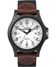 Timex TW4B08200 Pánská expedice hnědá tkanina popruh hodinky