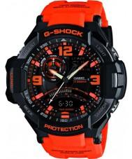 Casio GA-1000-4AER Pánská g-shock twin senzor neon-iluminátor hodinky