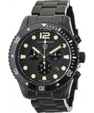 Elliot Brown 929-002-B03 Pánská bloxworth černé uhlíkových vláken chronograf hodinky