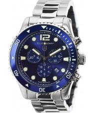 Elliot Brown 929-003-B01 Pánská bloxworth stříbro ocelářský chronograf hodinky