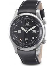 Elliot Brown 202-012-L02 Pánská horská služba vydání Canford černé hodinky s přídavným tkané černé balistické nylonového pásku