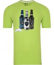 Dare2b Pánské límce zelené tričko