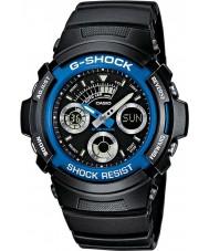 Casio AW-591-2AER Pánská g-shock černé chronografu sportovní hodinky