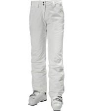 Helly Hansen Dámské legendární bílé lyžařské kalhoty