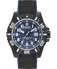 Swiss Military 6-4309-17-003 Pánské hodinky z černého uhlíku