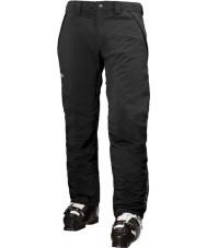 Helly Hansen Pánské lyžařské kalhoty s černou rychlostí