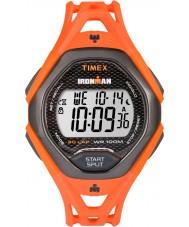 Timex TW5M10500 Pánské Ironman elegantní oranžovou pryskyřici popruh hodinky