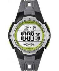 Timex TW5M06700 Pánská maratón černého plastu popruh hodinky