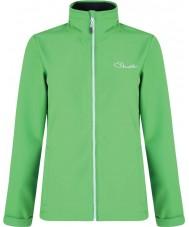 Dare2b Dáma pozorná zelená softshellová bunda pro fairway