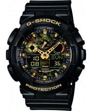 Casio GA-100CF-1A9ER Pánská g-shock černá chronograf hodinky