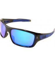 Oakley Oo9263-05 turbína černý inkoust - safír iridium sluneční brýle
