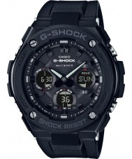 Casio GST-W100G-1BER Pánská g-shock rádiem řízené solární černé hodinky