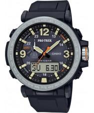 Casio PRG-600-1ER Pánská pro trek solární pohon černé digitální hodinky