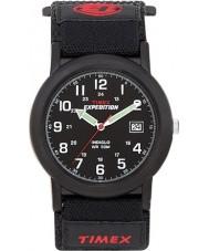 Timex T40011 Pánská černá táborník expedice hodinky