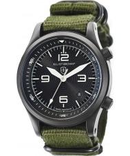 Elliot Brown 202-004-N01 Pánská Canford zelené tkaniny popruh hodinky