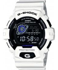 Casio GR-8900A-7ER Pánská g-shock světový čas bílý solární hodinky