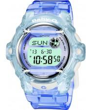 Casio BG-169R-6ER Dámy baby-g telememo 25 modré digitální hodinky