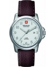 Swiss Military 6-4231-04-001 Pánská švýcarský voják prime hnědý kožený pásek na hodinky