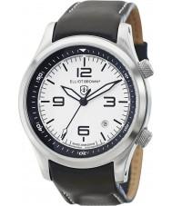 Elliot Brown 202-005-L02 Pánská Canford černý kožený pásek na hodinky