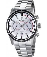 Festina F16818-1 Pánské prohlídka Británie 2015 všechny stříbrné chronograf hodinky