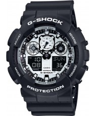 Casio GA-100BW-1AER Pánské hodinky g-shock