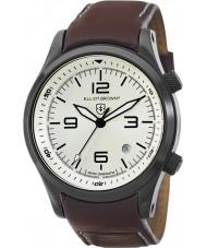 Elliot Brown 202-009-L05 Pánská Canford hnědý kožený řemínek hodinky