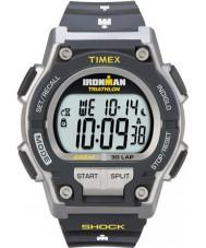 Timex T5K195 Pánská šedá Ironman tlumiče odolat 30. kolo sportovní hodinky