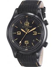 Elliot Brown 202-008-L11 Pánská Canford černý kožený pásek na hodinky