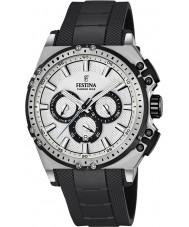 Festina F16970-1 Pánské Chrono kolo černá pryž chronograf hodinky
