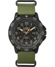 Timex TW4B03600 Pánská expedice Gallatin zelený nylonový popruh hodinky