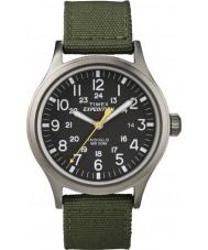 Timex T49961 Pánská expedice Scout zelená hodinky
