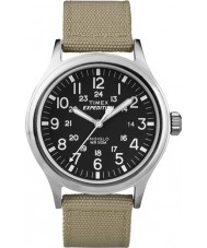 Timex T49962 Pánská expedice Scout tan hodinky