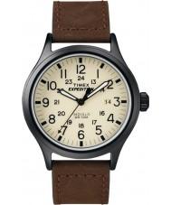 Timex T49963 Pánská expedice Scout hnědé hodinky