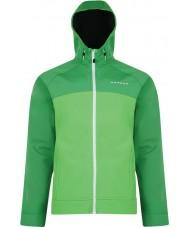 Dare2b Pánská veselá zelená softshellová bunda