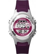 Timex TW5M11100 Dámské marathon fialové pryskyřice popruh hodinky