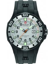 Swiss Military 6-4292-27-009-07 Pánské Bermuda černý silikonový pásek hodinky