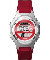 Timex TW5M11300 Dámské marathon červená pryskyřice popruh hodinky
