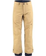 Oneill 653018-7012-XL Pánská kladivo žaspé hnědé lyžařské kalhoty - velikost XL