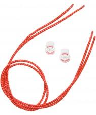 Zone3 Z14278 Elastické červené tkaničky