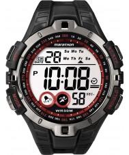 Timex T5K423 Pánská červená černá Marathon Sport hodinky