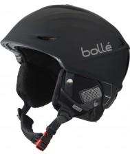 Bolle 31186 Ostrá černá Digitalism lyžařská helma - 54 až 58 cm