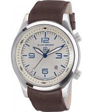 Elliot Brown 202-001-L09 Pánská Canford hnědý kožený řemínek hodinky