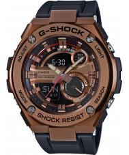 Casio GST-210B-4AER Pánská g-shock auto LED světla černé pryskyřici popruh hodinky