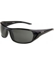 Bolle Blacktail lesklé černé sluneční brýle TNS