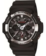 Casio GA-200-1AER Pánská g-shock světový čas černá chronograf hodinky