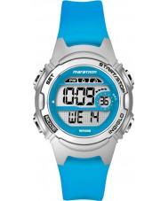 Timex TW5K96900 Dámské marathon střední velikosti modrá pryskyřice popruh chronograf hodinky