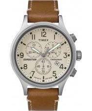 Timex TW4B09200 Pánská expedice tan kožený řemínek hodinky