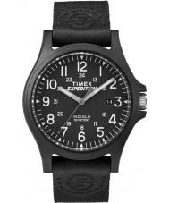 Timex TW4B08100 Pánská expedice černá tkanina popruh hodinky